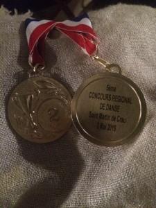 medailles 2eme Prix semenova